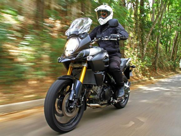Teste: Nova V-Strom 1000 ABS traz Suzuki de volta à vida
